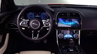 2019 Jaguar XE - interior