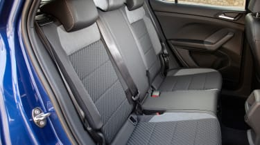 Volkswagen T-Cross 2019 interior rear seats