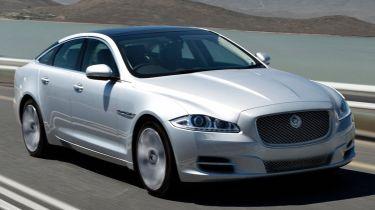 Jaguar XJ 2012 front quarter