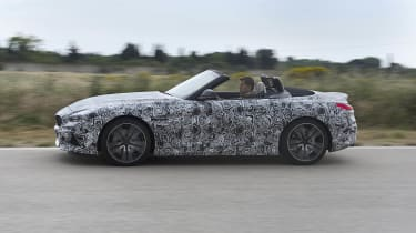 We expect the M40i version of the new Z4 to do 0-62mph in 4.5 seconds