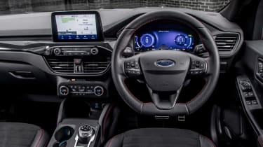 Ford Kuga Plug-in Hybrid interior