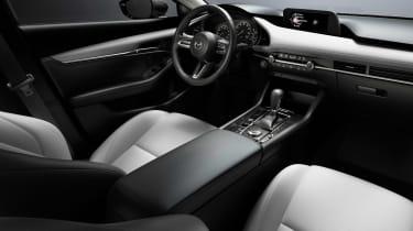 2019 Mazda3 saloon interior