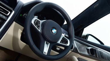 BMW 8 Series Gran Coupe saloon steering wheel