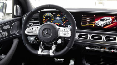 Mercedes-AMG GLS 63 interior