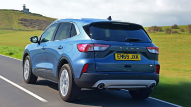 Ford Kuga driving - rear view