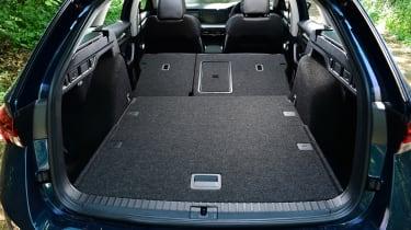 2020 Skoda Octavia Estate - boot with seats folded
