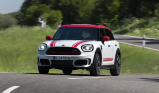 2020 MINI Countryman John Cooper Works cornering