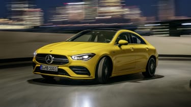 Mercedes-AMG CLA 35 - front driving