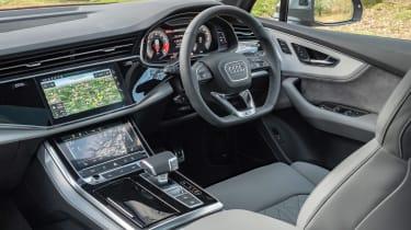 Audi SQ7 SUV dashboard