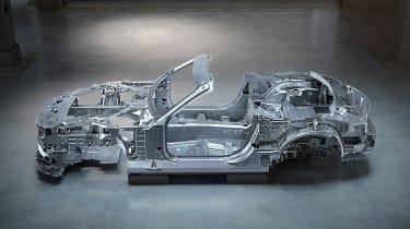 2021 Mercedes SL - underpinnings side view
