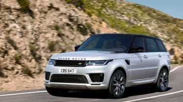 Range Rover Sport HST special edition driving