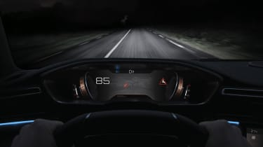 Peugeot 508 – night vision