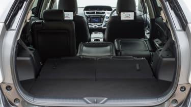 Toyota Prius+ MPV luggage volume