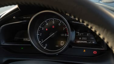Mazda2 dials