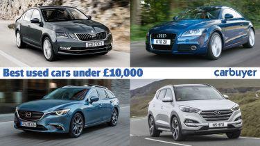Header image - best used cars under £10,000