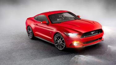 Ford Mustang coupe 2014 front quarter static