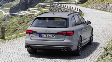 Audi S4 Avant TDI - rear static