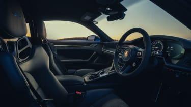 Porsche 911 GT3 steering wheel