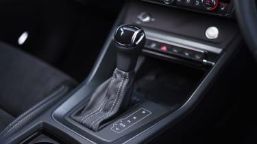 Audi Q3 Sportback SUV - gearstick