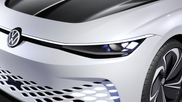 Volkswagen ID. Space Vizzion concept headlight