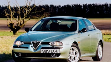 The Alfa Romeo 156 may have been front-wheel drive, but buyers enjoyed its handling as much as its svelte looks