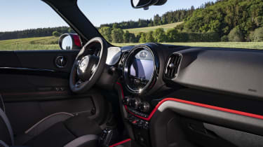 2020 MINI Countryman John Cooper Works interior
