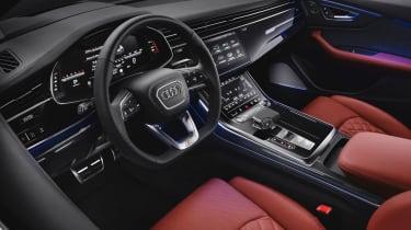 Audi SQ8 SUV interior