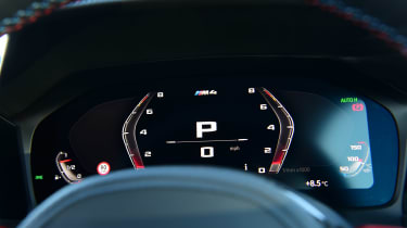 BMW M4 Coupe instrument display