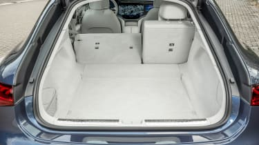 Mercedes EQS hatchback boot