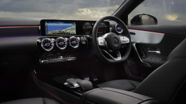 Mercedes CLA Shooting Brake interior