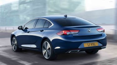 Vauxhall Insignia facelift - rear view