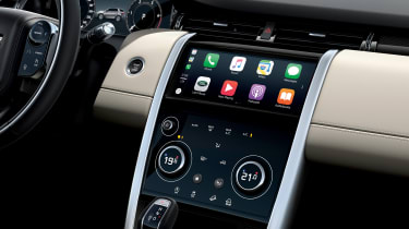 Facelifted Land Rover Discovery Sport - interior centre console