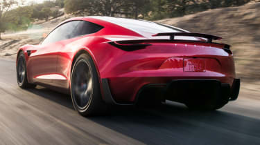 0-60mph in 1.9 seconds is claimed, with a top speed of around 250mph