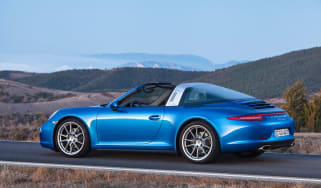 Porsche 911 Targa 2014 rear static