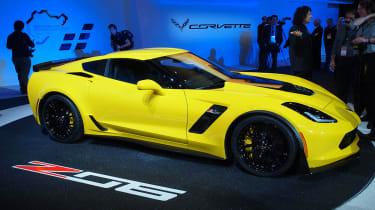 Corvette Z06 2014 front quarter static