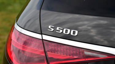 Mercedes S-Class saloon rear lights
