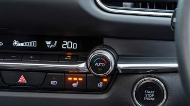 Mazda CX-30 SUV switches