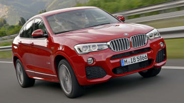 Lowered suspension means the BMW X4 handles particularly well for an SUV