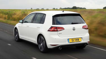 Volkswagen Golf GTI - rear 3/4 view