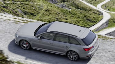 Audi S4 Avant TDI - above static