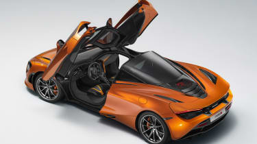 It can brake from 124mph to a standstill in just 4.6 seconds...