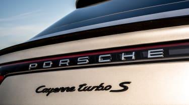 Porsche Cayenne Coupe SUV - badging