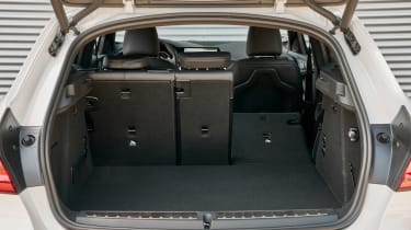 BMW 1 Series hatchback luggage space