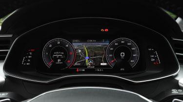 Audi A6 saloon digital instruments