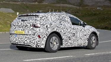 2021 Volkswagen ID.4 SUV  - rear 3/4 passing