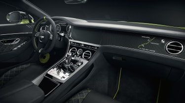 Bentley Continental GT Limited Edition interior