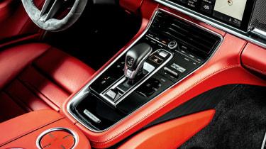 Porsche Panamera hatchback centre console