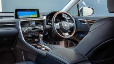 Lexus RX L SUV interior