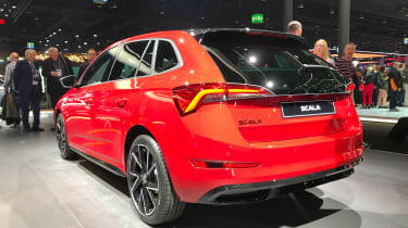 Skoda Scala Monte Carlo - Rear 3/4 at Frankfurt