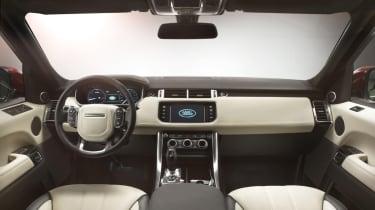 Range Rover Sport 2013 interior front